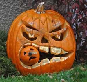 funny halloween prank idea pumpkin clever scary dots of color - Funny Halloween Prank